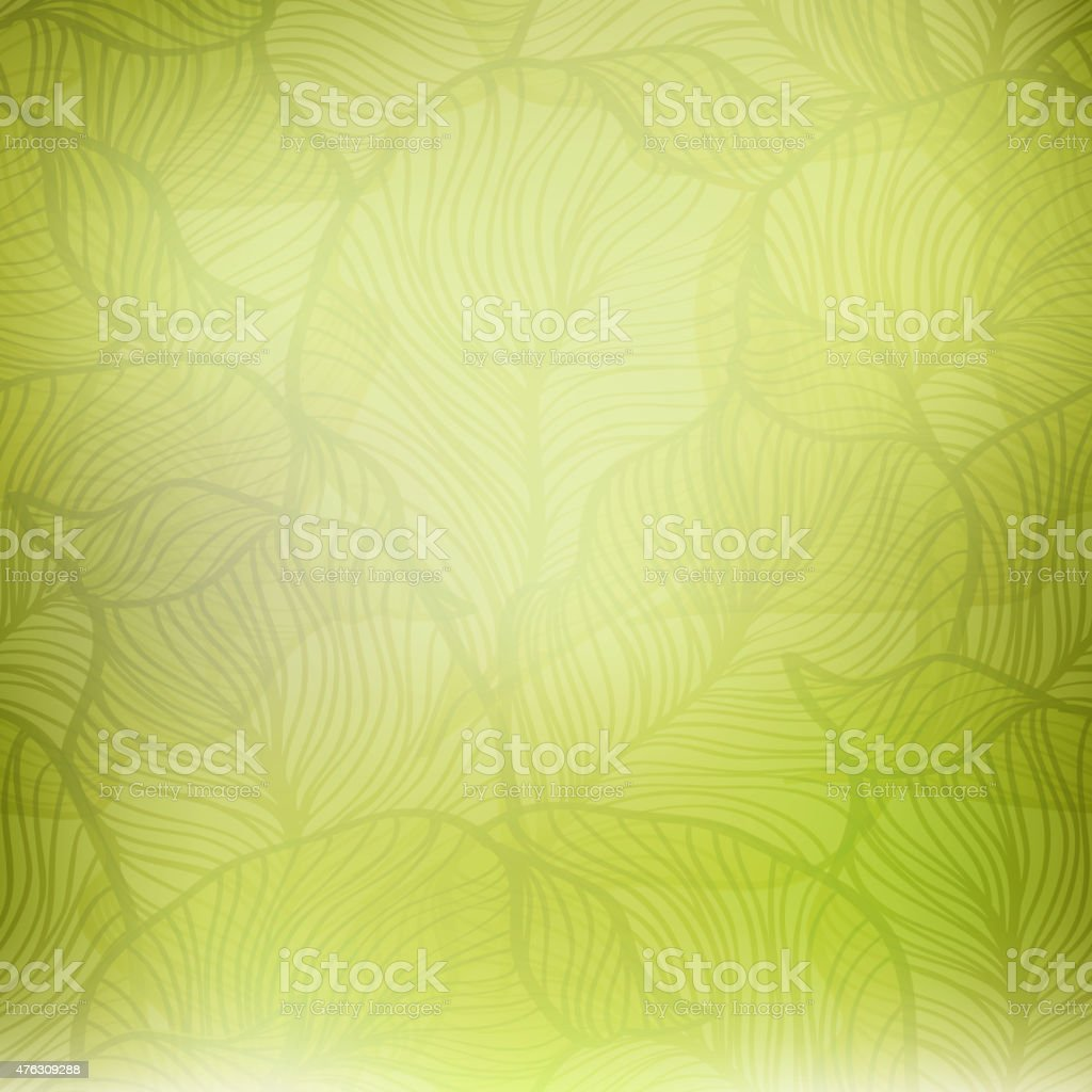 Abstract green vintage background vector art illustration