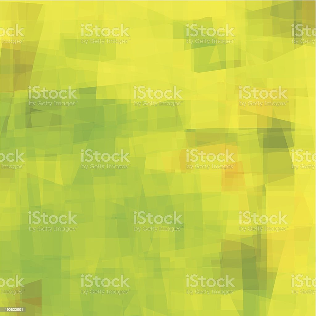 abstract green with yellow transparency technology shape background royalty-free stock vector art
