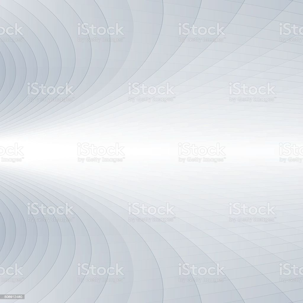 Abstract grey and white perspective background vector art illustration