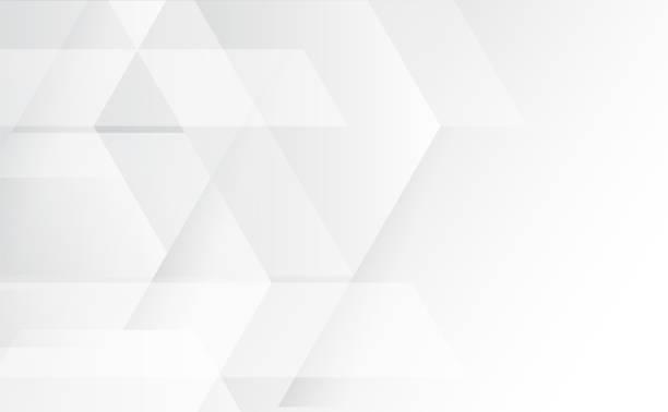 抽象灰色和白色技術幾何企業設計背景 eps 10.vector 插圖 - 圖畫 藝術品 幅插畫檔、美工圖案、卡通及圖標