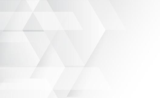 추상 회색과 흰색 기술 기하학적 기업 디자인 배경 Eps 10벡터 그림 0명에 대한 스톡 벡터 아트 및 기타 이미지