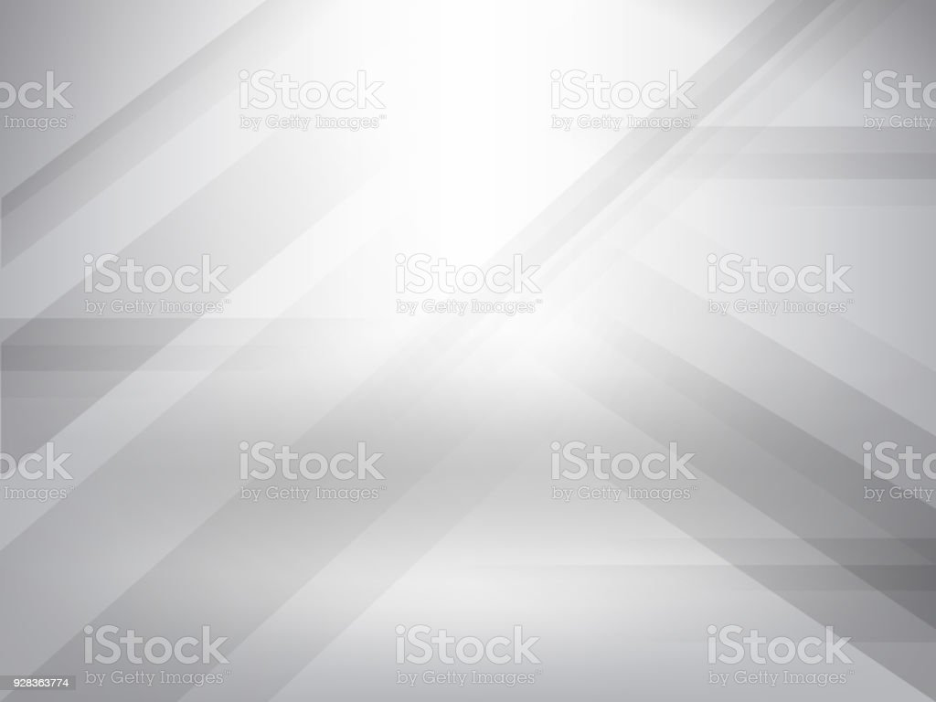 c54b50f695b4 Abstract grey and white tech geometric corporate design background eps 10 -  Illustration .