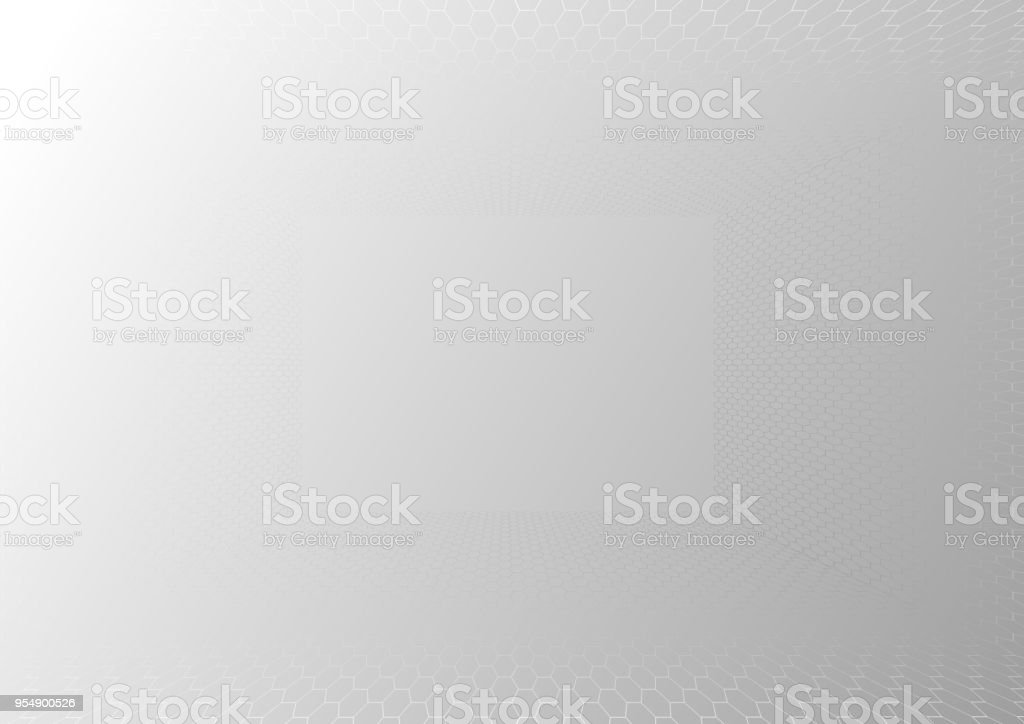 f4250f0364df Abstract grey and white tech geometric corporate design background eps 10.Vector  illustration - Illustration .