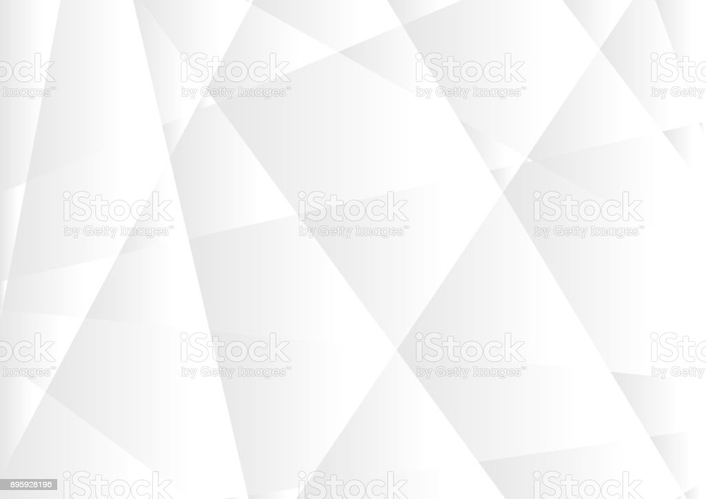 Abstract grey hi-tech polygonal corporate background vector art illustration
