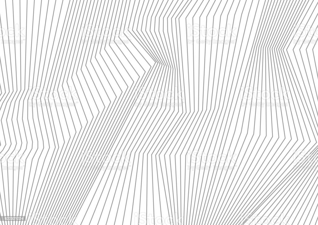 Abstract grey lines refraction vector background vector art illustration