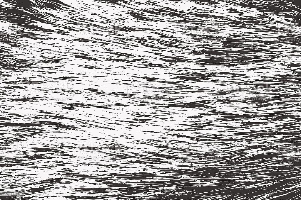Abstract grunge background. Grunge fur texture vector art illustration