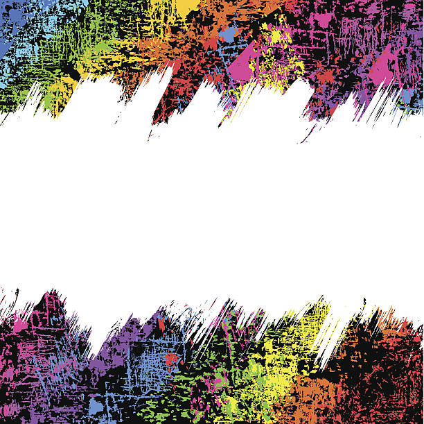 abstract grunge background - graffiti backgrounds stock illustrations, clip art, cartoons, & icons