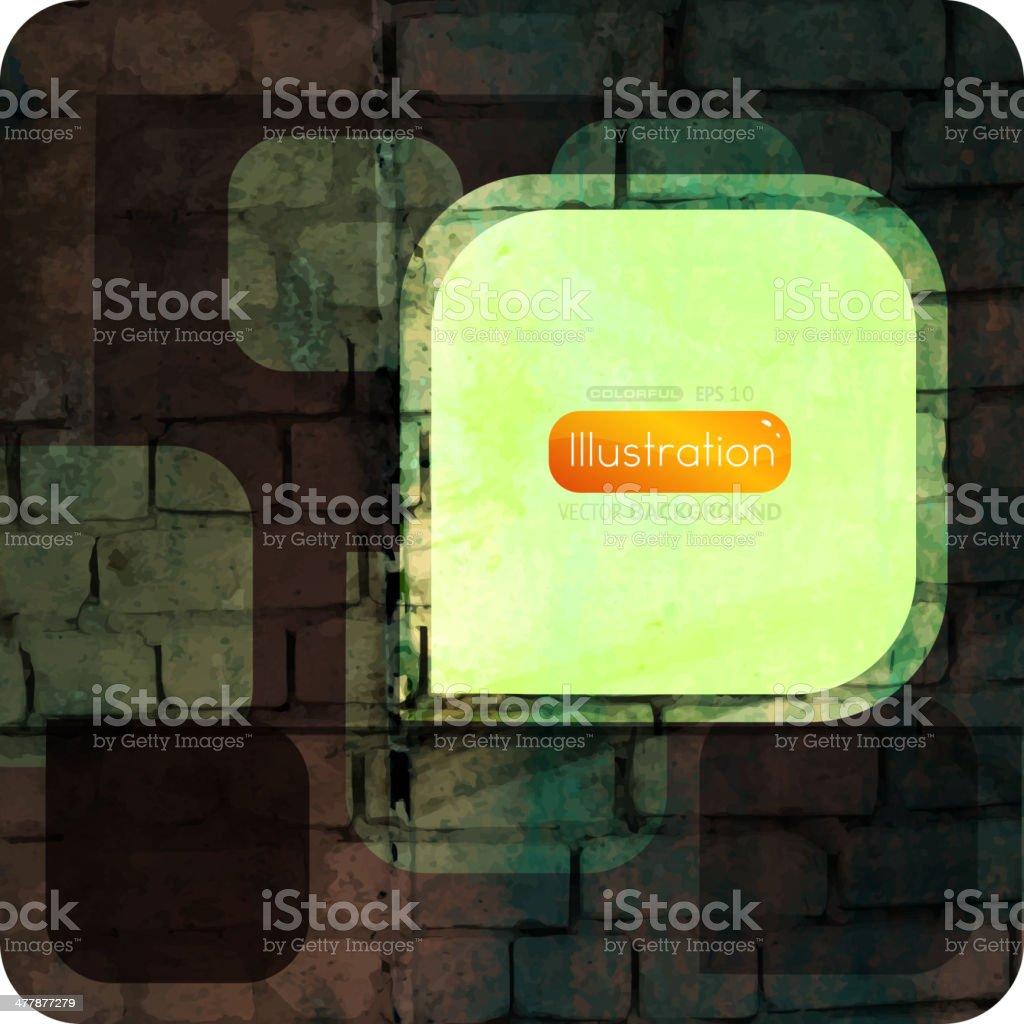 Abstract Grunge Background royalty-free stock vector art