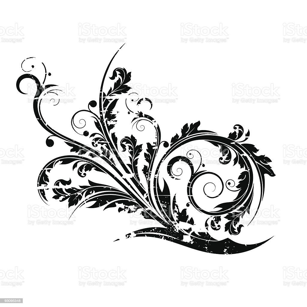 Abstract grunge isolated flourish royalty-free abstract grunge isolated flourish stock vector art & more images of abstract
