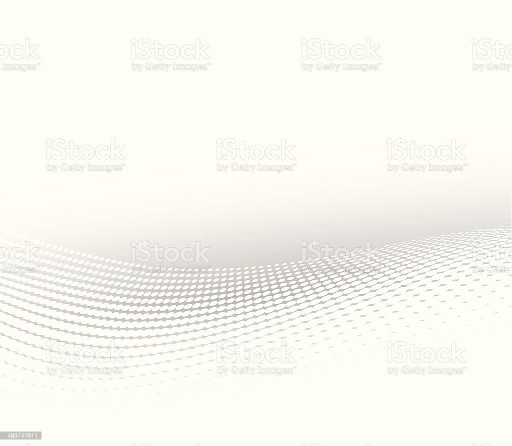Abstract halftone background vector art illustration