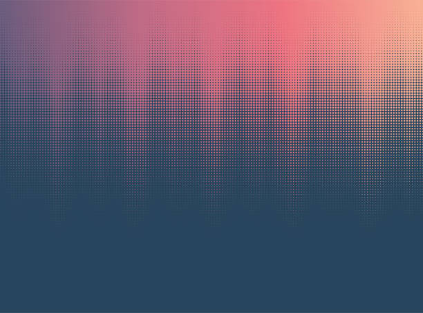 Abstract Halftone Background Vector halftone background design. youth culture stock illustrations