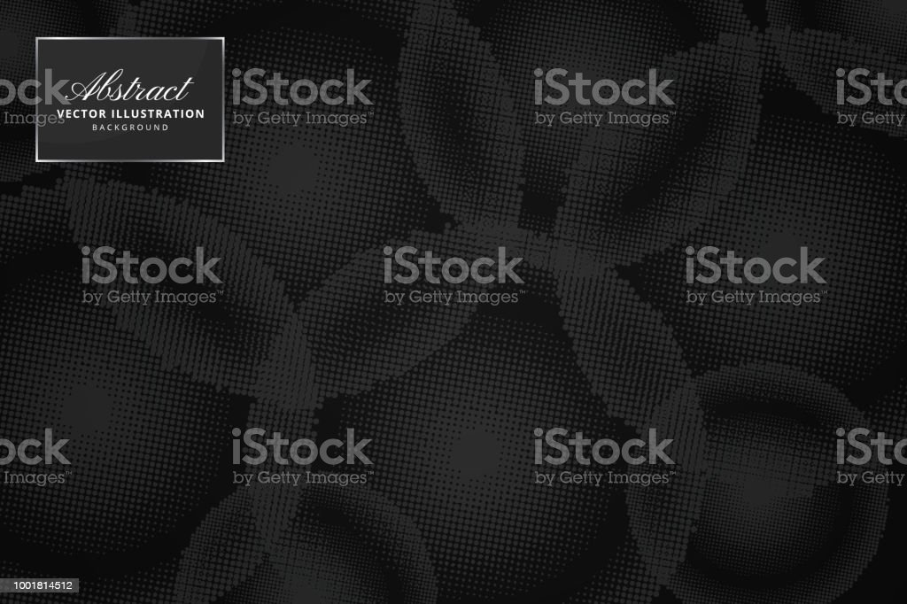 Abstract halftone dots background vector art illustration