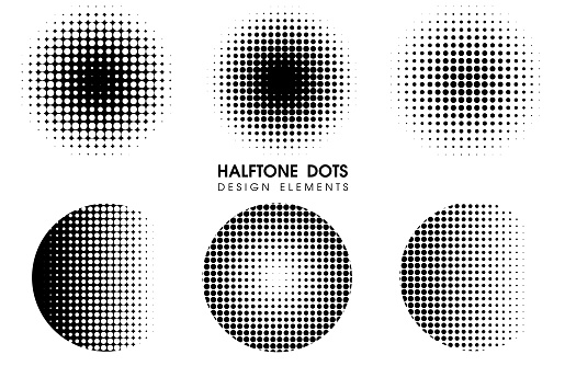 Abstract Halftone dots Comic Cartoon Background. Vector Illustration Design.