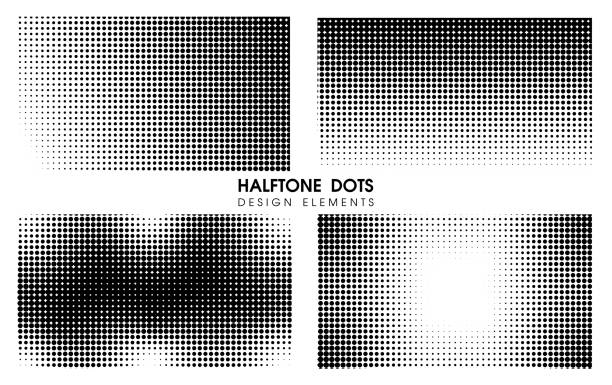 Abstract Halftone dots Comic Cartoon Background. Vector Illustration Design. Abstract Halftone dots Comic Cartoon Background. Vector Illustration Design. high key stock illustrations