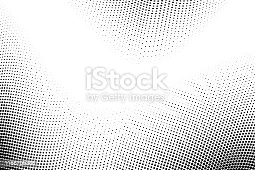 istock Abstract Halftone Gradient Background. modern look. 1155705366