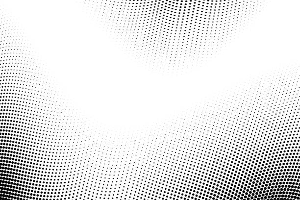 illustrazioni stock, clip art, cartoni animati e icone di tendenza di abstract halftone gradient background. modern look. - pattern
