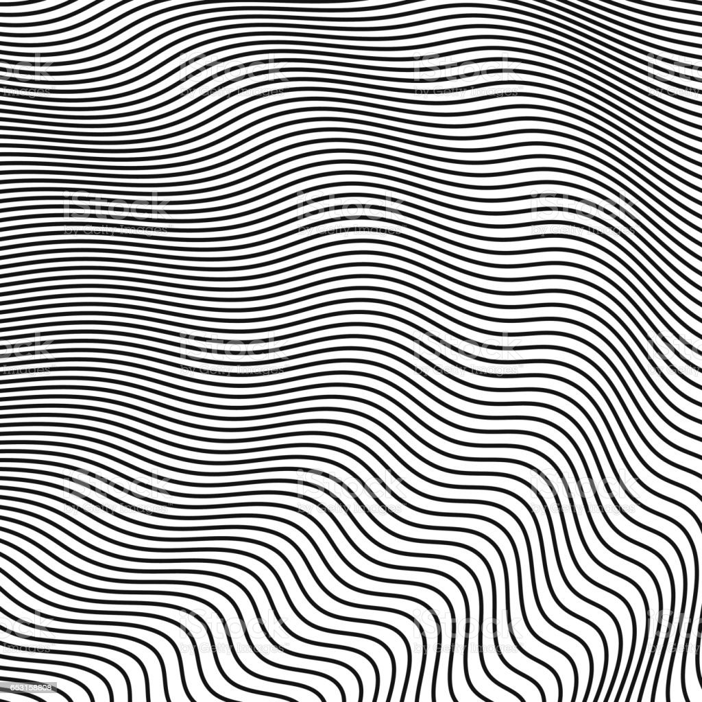 abstract halftone waves. vector background for design vector art illustration