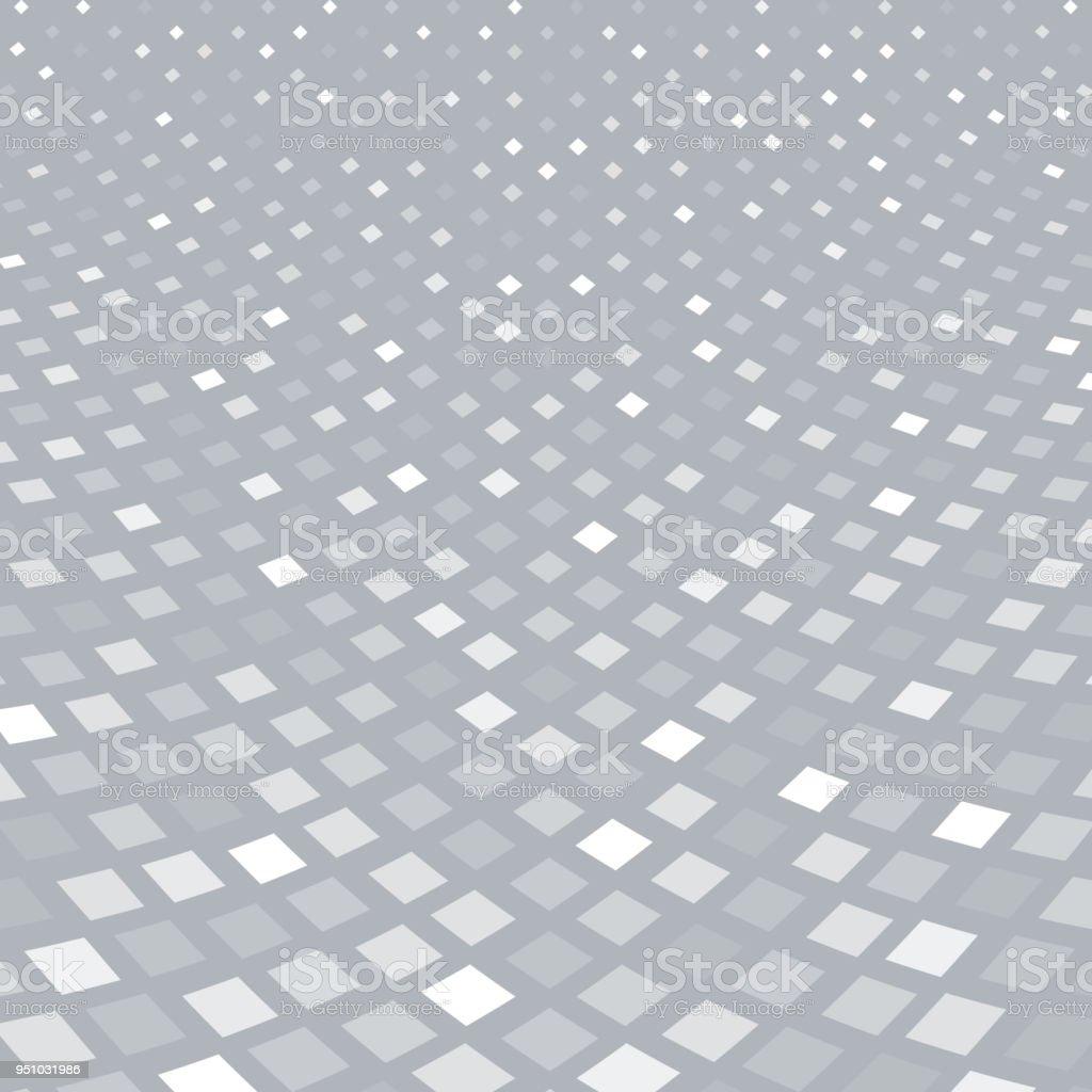Ilustración de Punto De Vista De Patrón Cuadrado Abstracto Tono ...