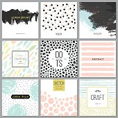 Abstract Hand Drawn Backgrounds