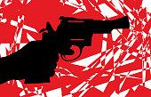 Abstract Handgun Icon