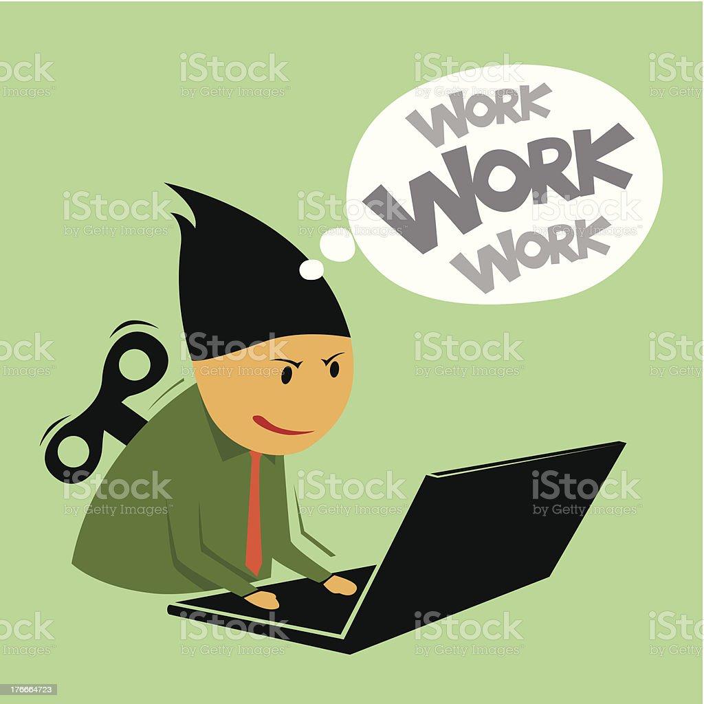 Abstract trabajo ejecutivo. ilustración de abstract trabajo ejecutivo y más banco de imágenes de actividad libre de derechos