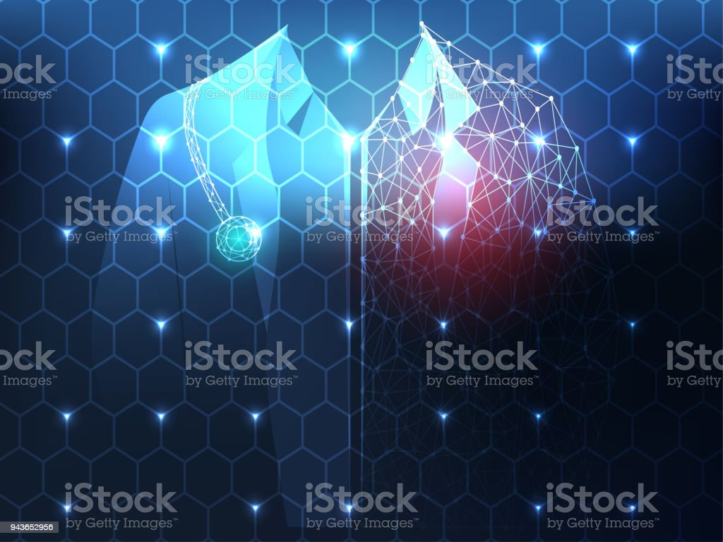 Abstract Health Medical Science Consist Doctor Digital Technology Concept Modern TechnologyTreatmentmedicine