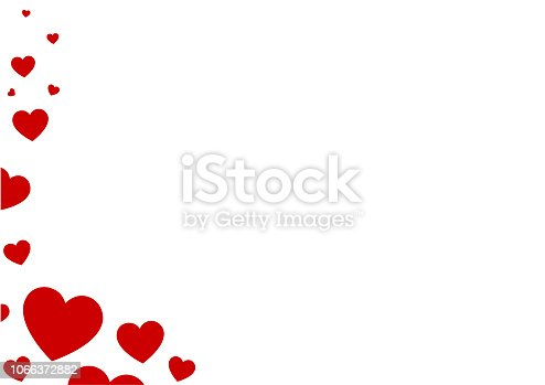 istock Abstract Heart Background 1066372882