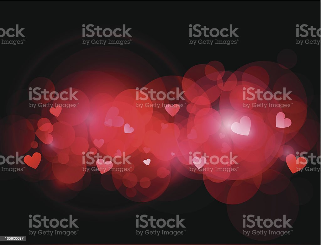 Abstract heart background royalty-free stock vector art