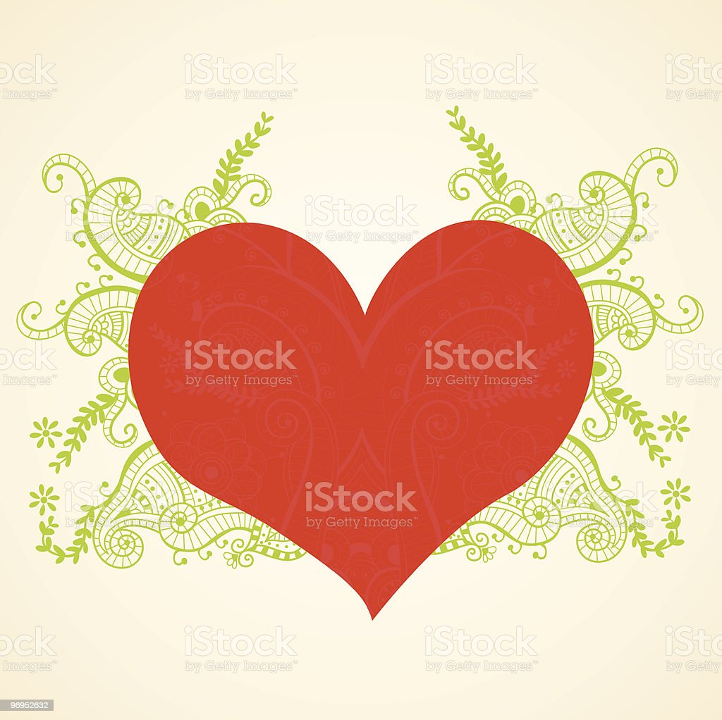 abstract heart royalty-free abstract heart stock vector art & more images of backgrounds