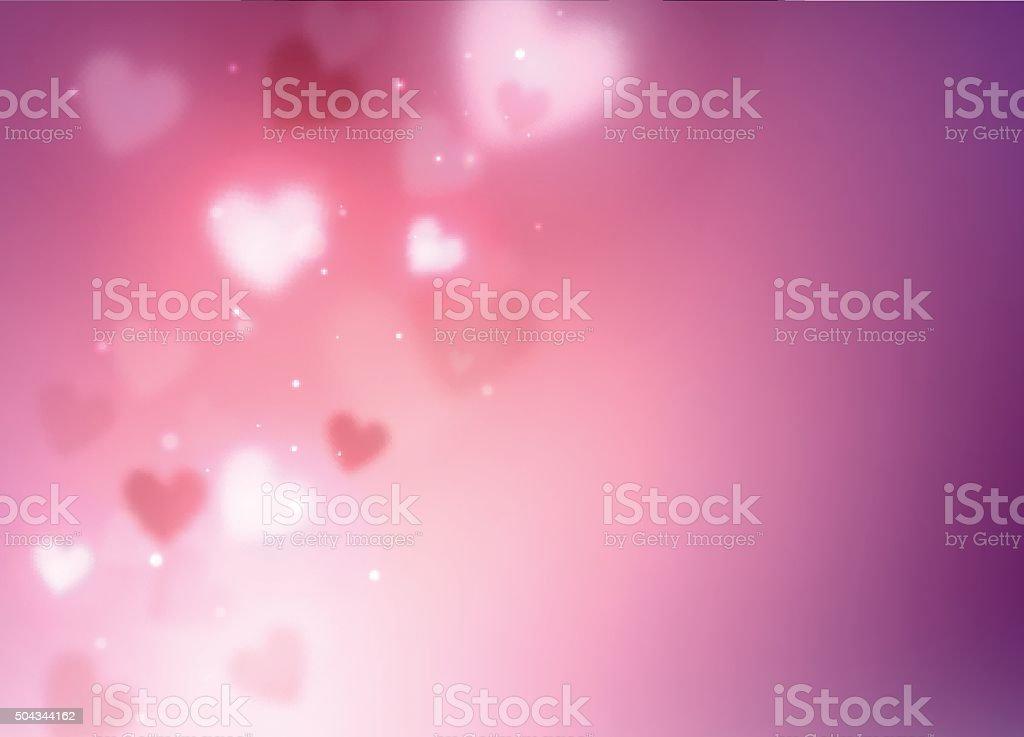 Фон абстрактный сердца векторная иллюстрация