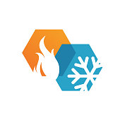 istock abstract heating and cooling hvac logo design vector business company 1167150948