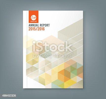 Abstrakte Sechseck Cube Muster Hintergrunddesign Für Business ...
