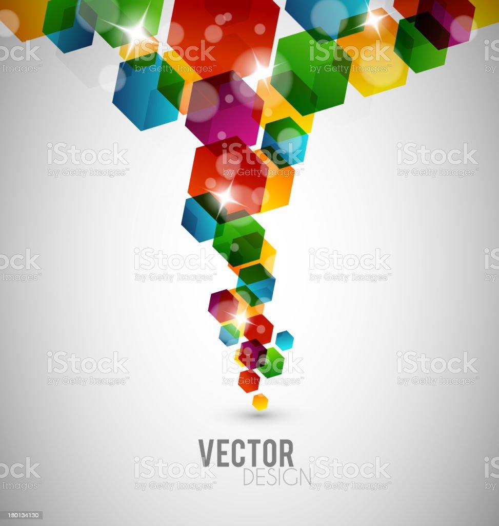 Abstract hexagon design royalty-free abstract hexagon design stock vector art & more images of abstract