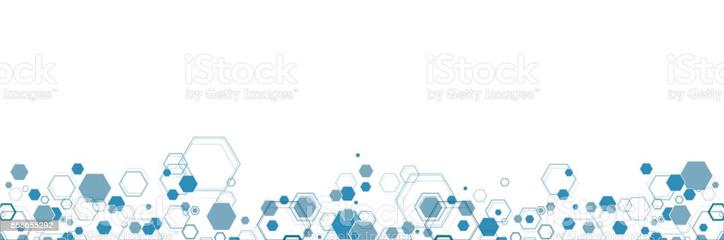 Resumen estructuras hexagonales - ilustración de arte vectorial