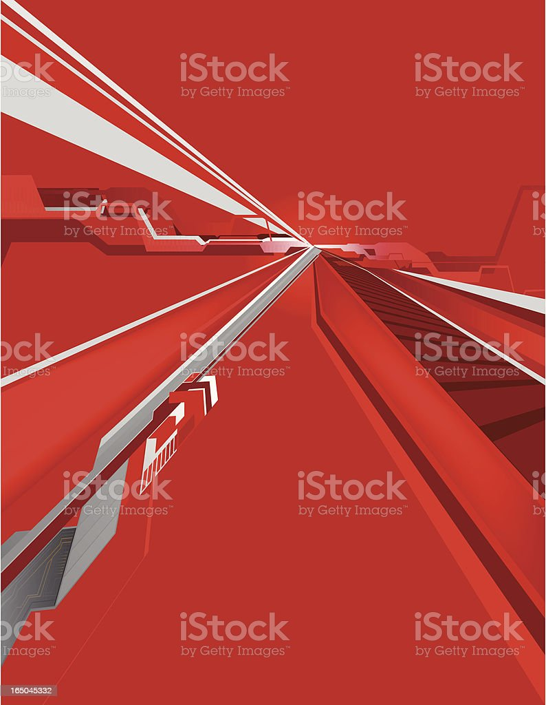 Abstract Hitech Background 2 royalty-free stock vector art