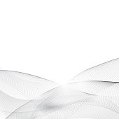 Abstract hi-tech wave modern background futuristic cool layout