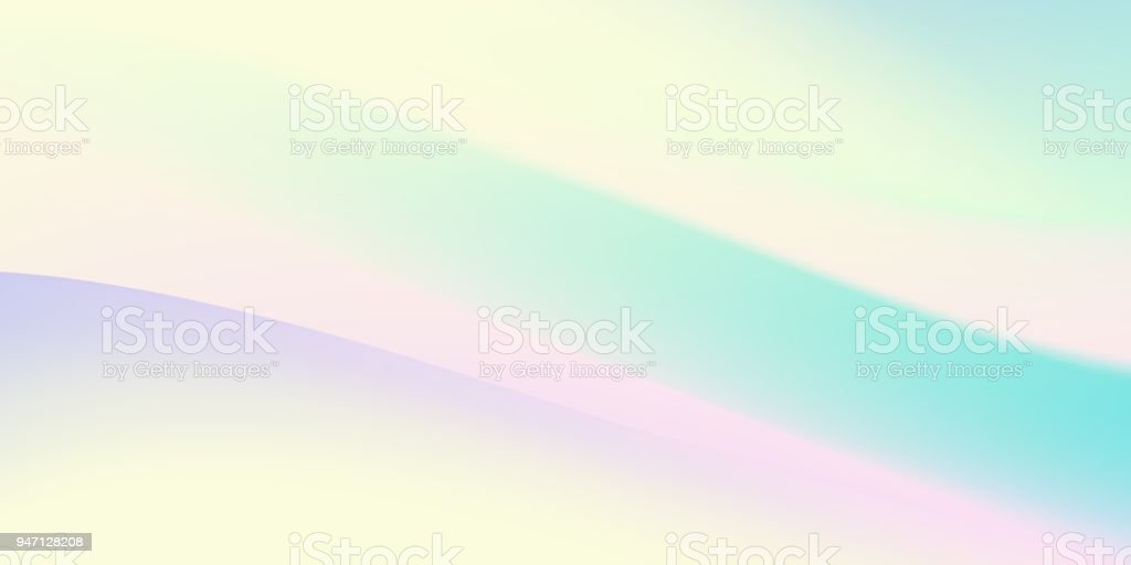 Abstract Holographic Backdrop 80s Bright Colorful Background