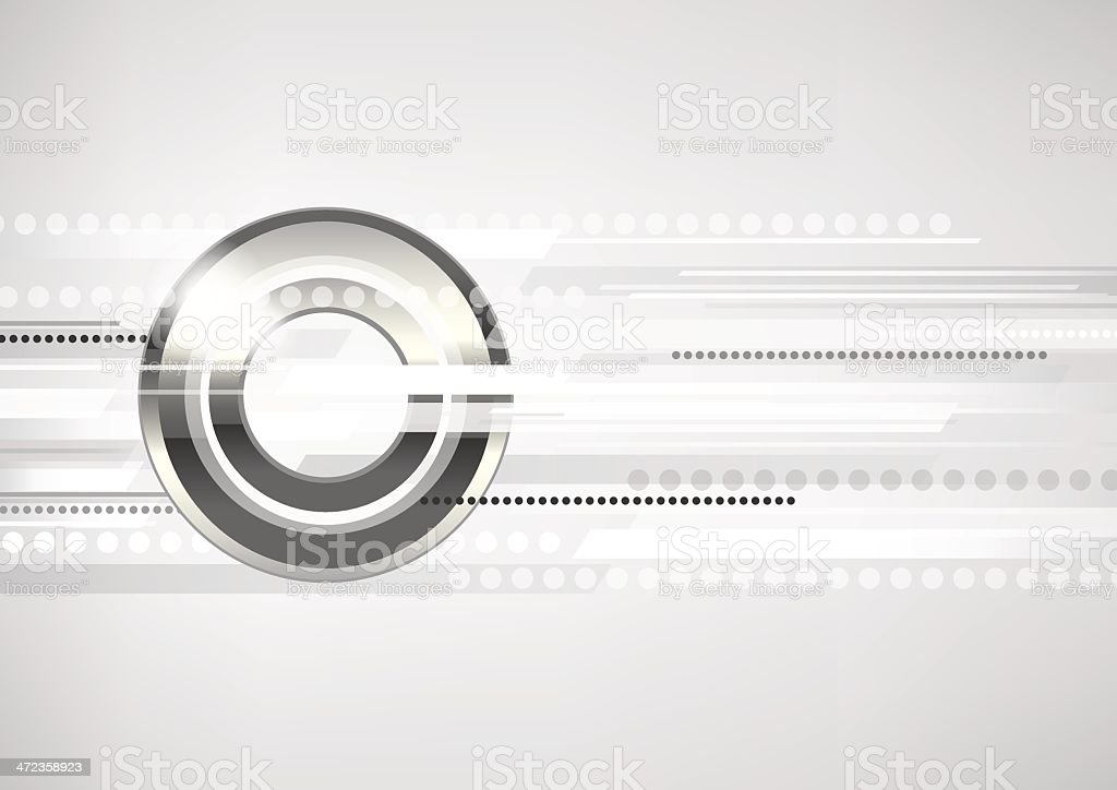 Abstract horizontal white-grey background with metal circles. royalty-free abstract horizontal whitegrey background with metal circles stock vector art & more images of abstract