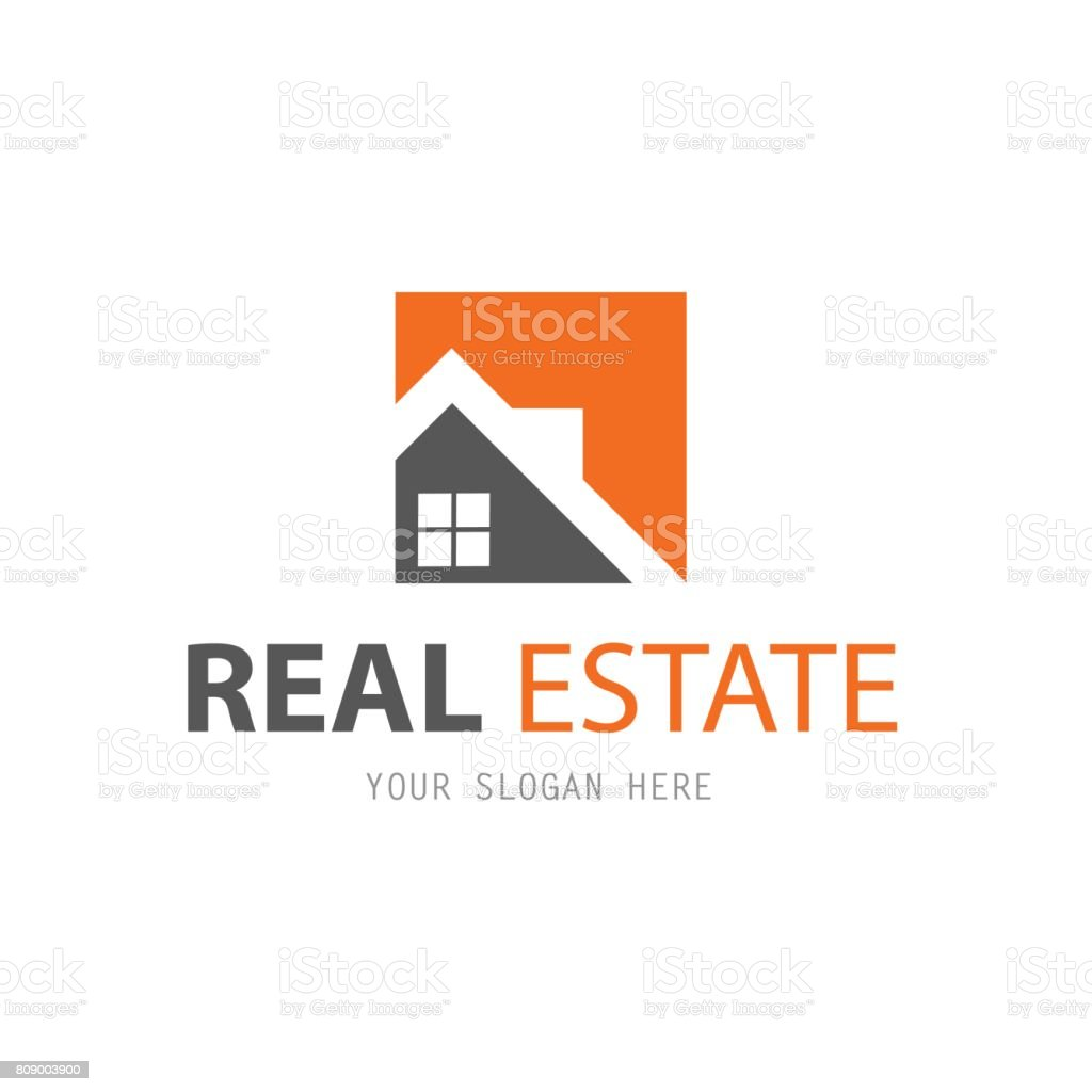 Abstract house symbol design template. Business vector icon. Real Estate vector art illustration