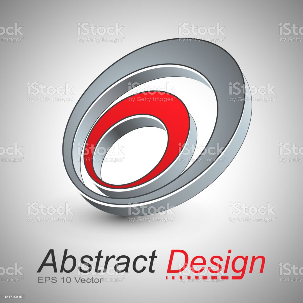 abstract icon design royalty-free stock vector art