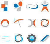 Abstract icons or icons