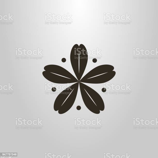 Abstract icon of a fiveleaf plant with dots around it vector id947757546?b=1&k=6&m=947757546&s=612x612&h=6jatb5cmk6rekl4o2p h5zwqspnjf3pe5nwt0km38e0=