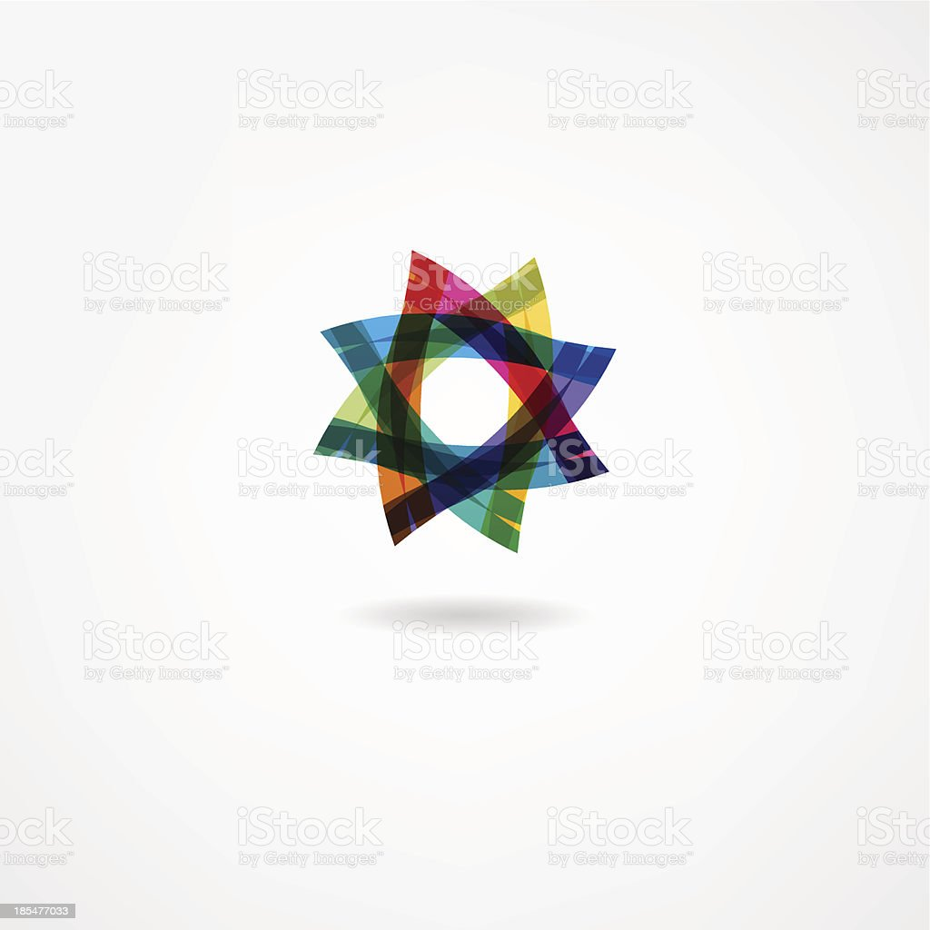 abstract icon royalty-free stock vector art