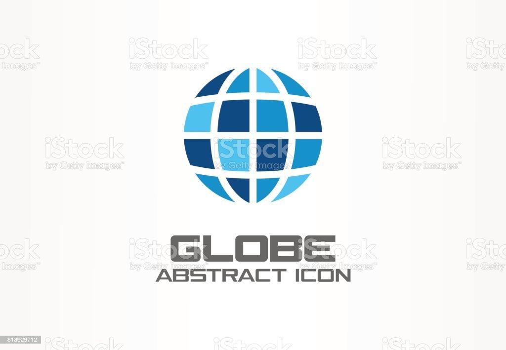 Globus Weltkugel Karte.Abstrakte Idee Für Unternehmen Cidesignelement Internettechnologie