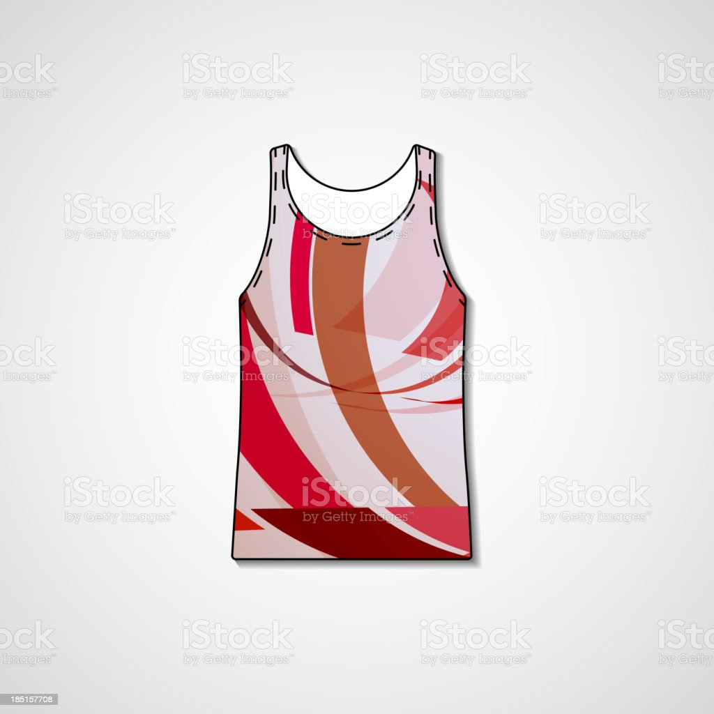 Abstract illustration on singlet royalty-free abstract illustration on singlet stock vector art & more images of abstract