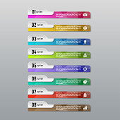 Abstract infographic business template for chart, diagram, web design, workflow layout
