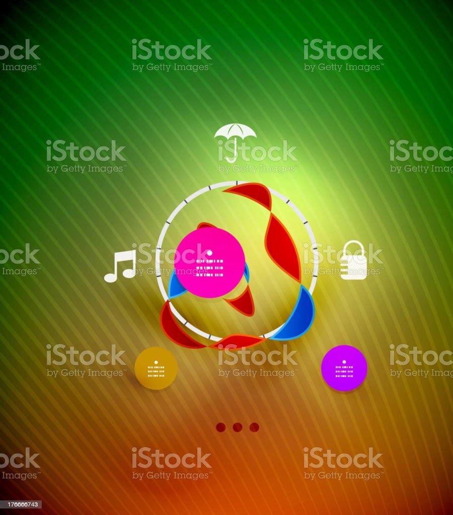 Abstracto infografía diseño ilustración de abstracto infografía diseño y más banco de imágenes de abstracto libre de derechos