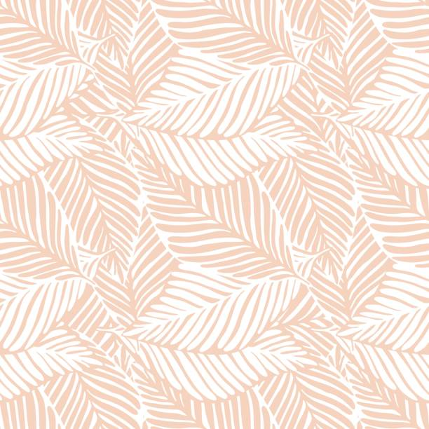 Abstract jungle print. Exotic plant. Tropical pattern, Abstract jungle print. Exotic plant. Tropical pattern, palm leaves seamless vector floral background. hawaiian culture stock illustrations