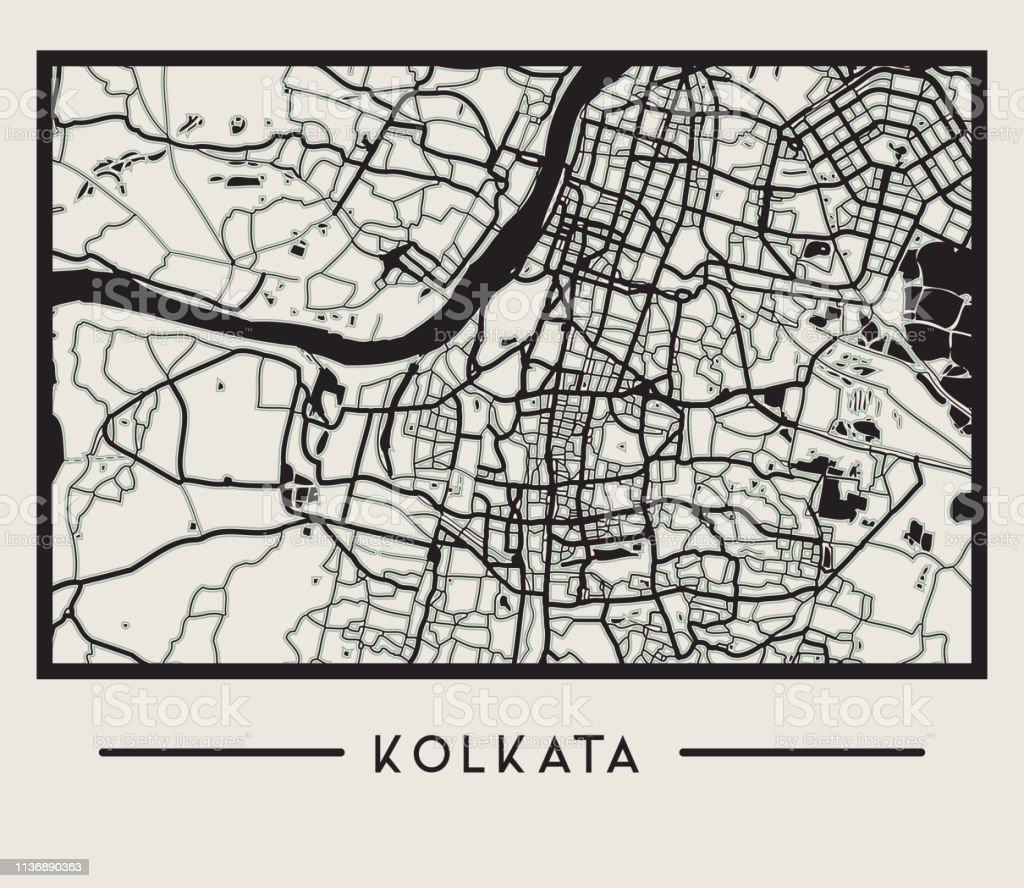Abstract Kolkata City Map Illustration Stock Illustration - Download on andaman islands map, amritsar map, gobi desert map, dhaka map, mumbai map, myanmar map, bangalore map, jaipur map, beijing map, seoul map, bangladesh map, west bengal map, asia map, cairo map, colombo map, indus river map, delhi map, calcutta map, chennai on map, varanasi map,