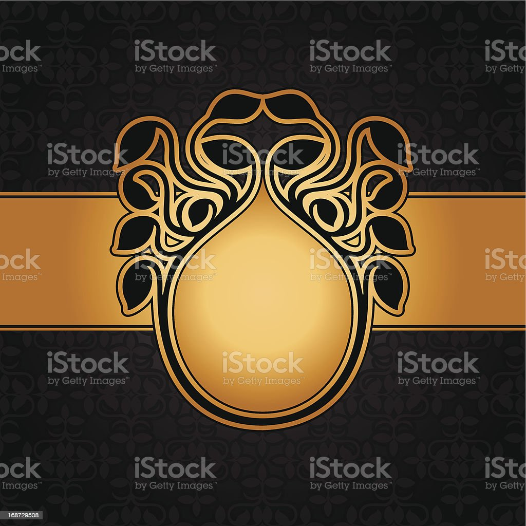 Abstract leaf background royalty-free stock vector art